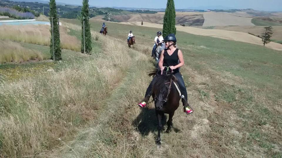 escursione a cavallo 2 ore volterra